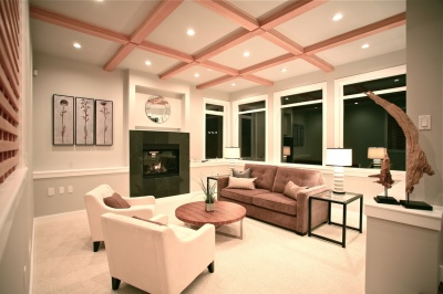 Sarra Homes Living Room